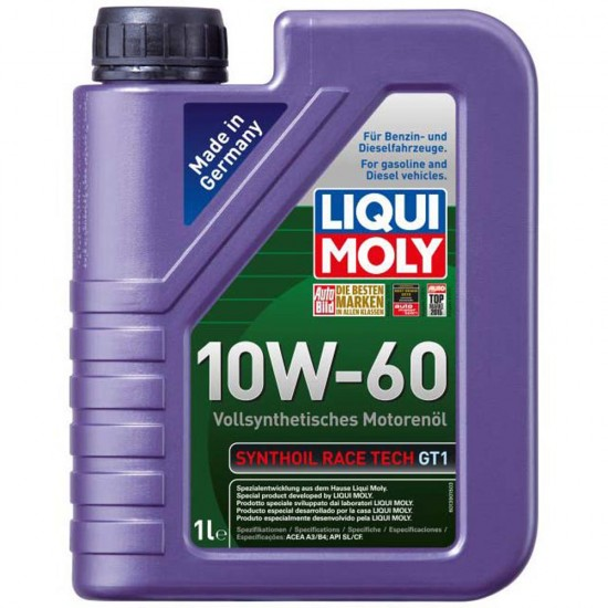 LIQUI MOLY Syntoil Race Tech GT1 10W60, 1л.
